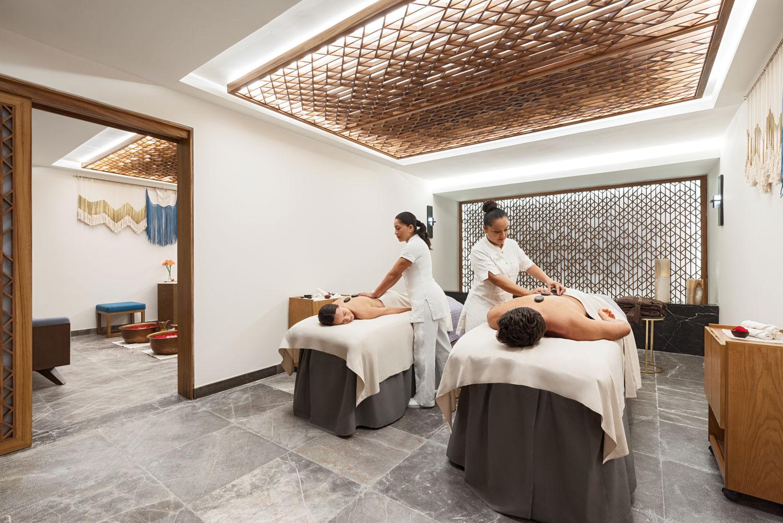 Hyatt Zilara Cancun Playa Resorts Zen Spa presidential suite honeymoon couple's massage