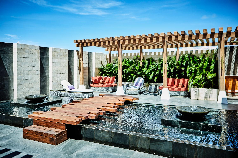 Hyatt Zilara Cancun Playa Resorts Zen Spa patio