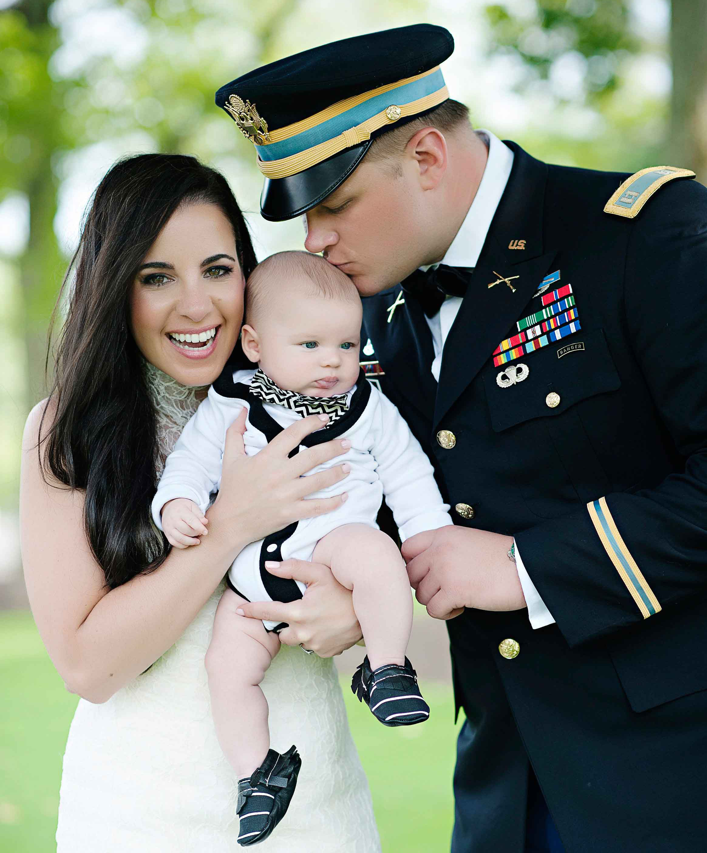 how to include your infant baby in your wedding