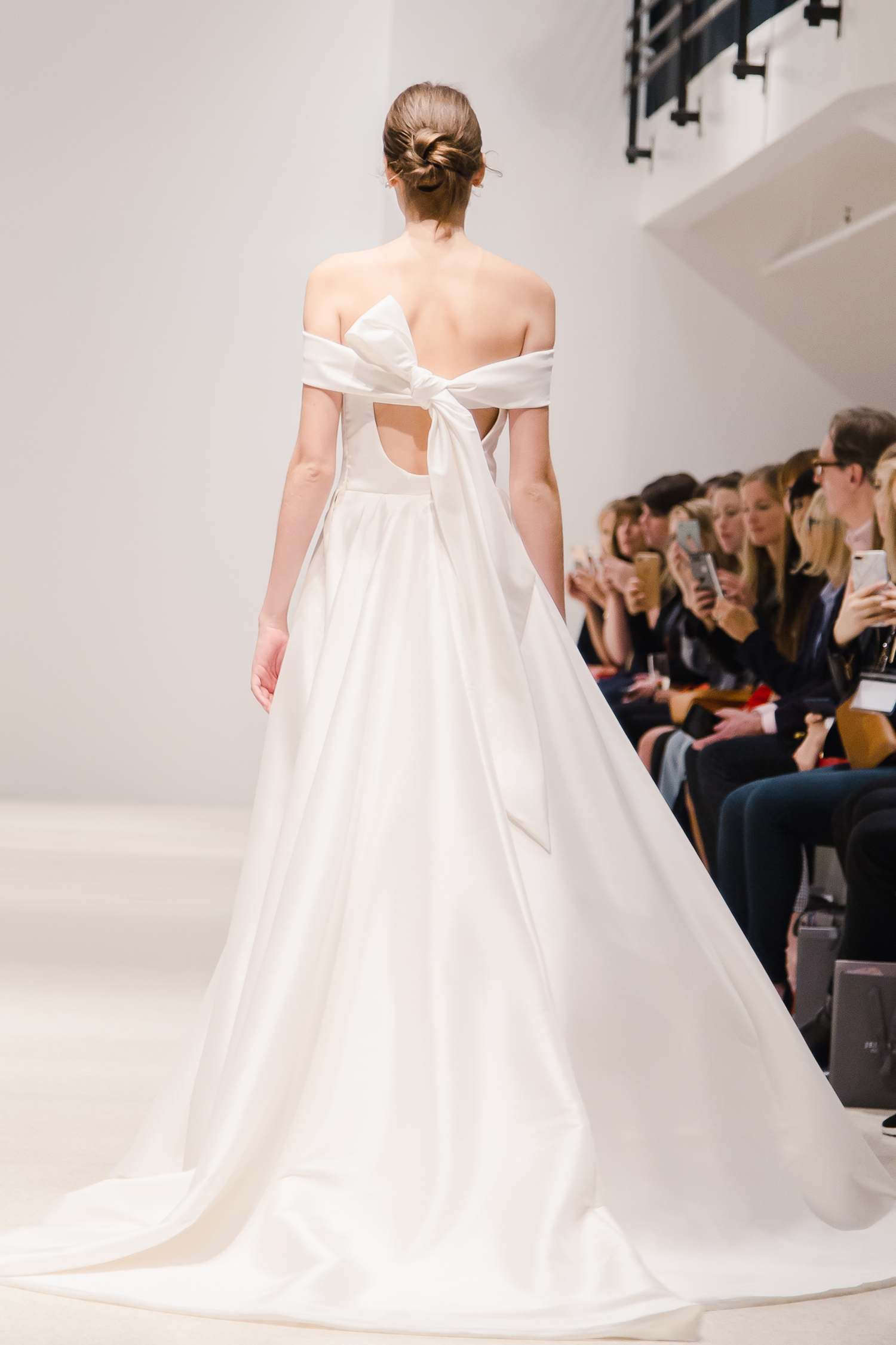 Jenny Yoo Collection wedding dress bow in back