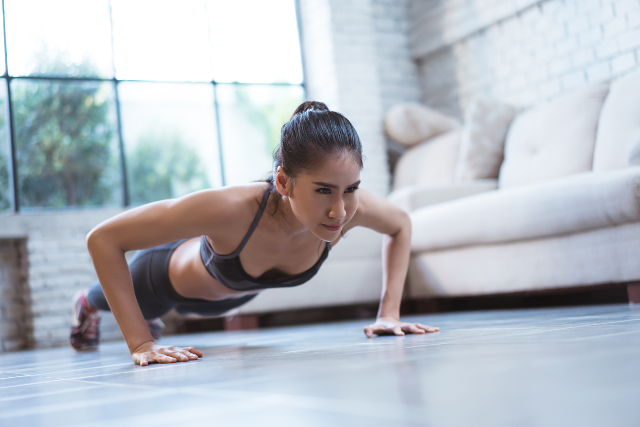 pushups, bridal workout tips for strapless dresses, focus on upper body