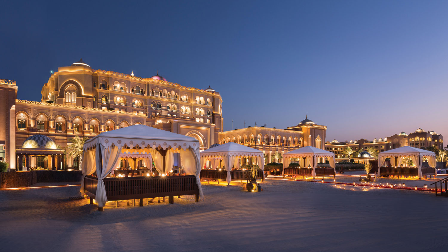 Emirates Palace in the United Arab Emirates honeymoon ideas
