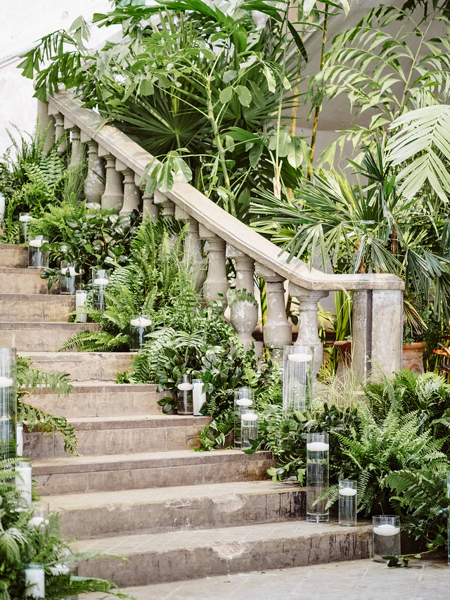 destination wedding expert advice and tips from beth helmstetter events pretty stone stairs greenery