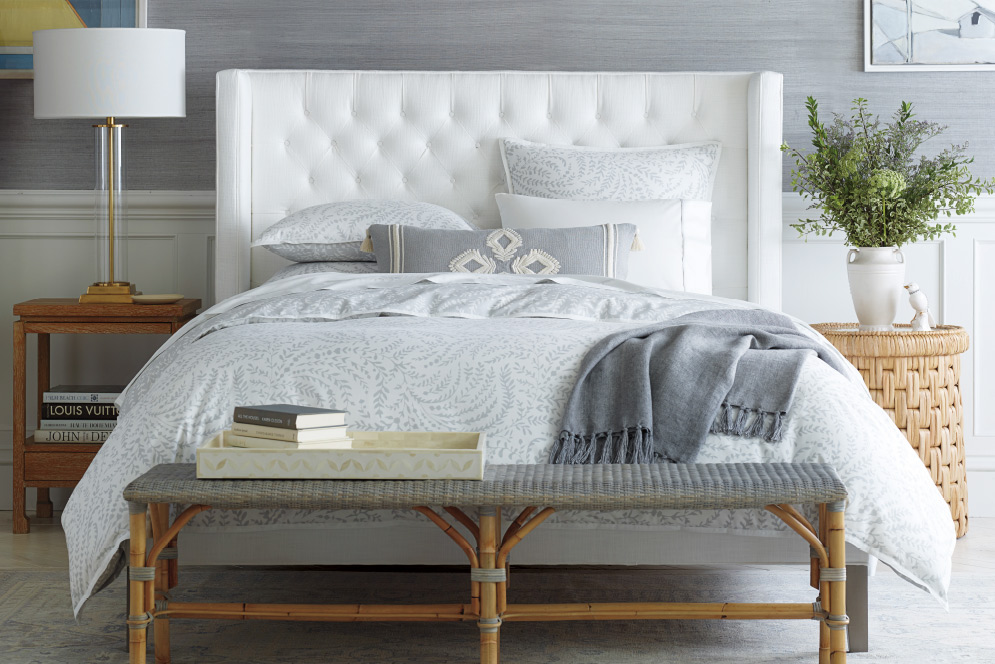 pretty white and grey bedding serena and lily bedroom sale for spring bedroom refresh newlyweds couples