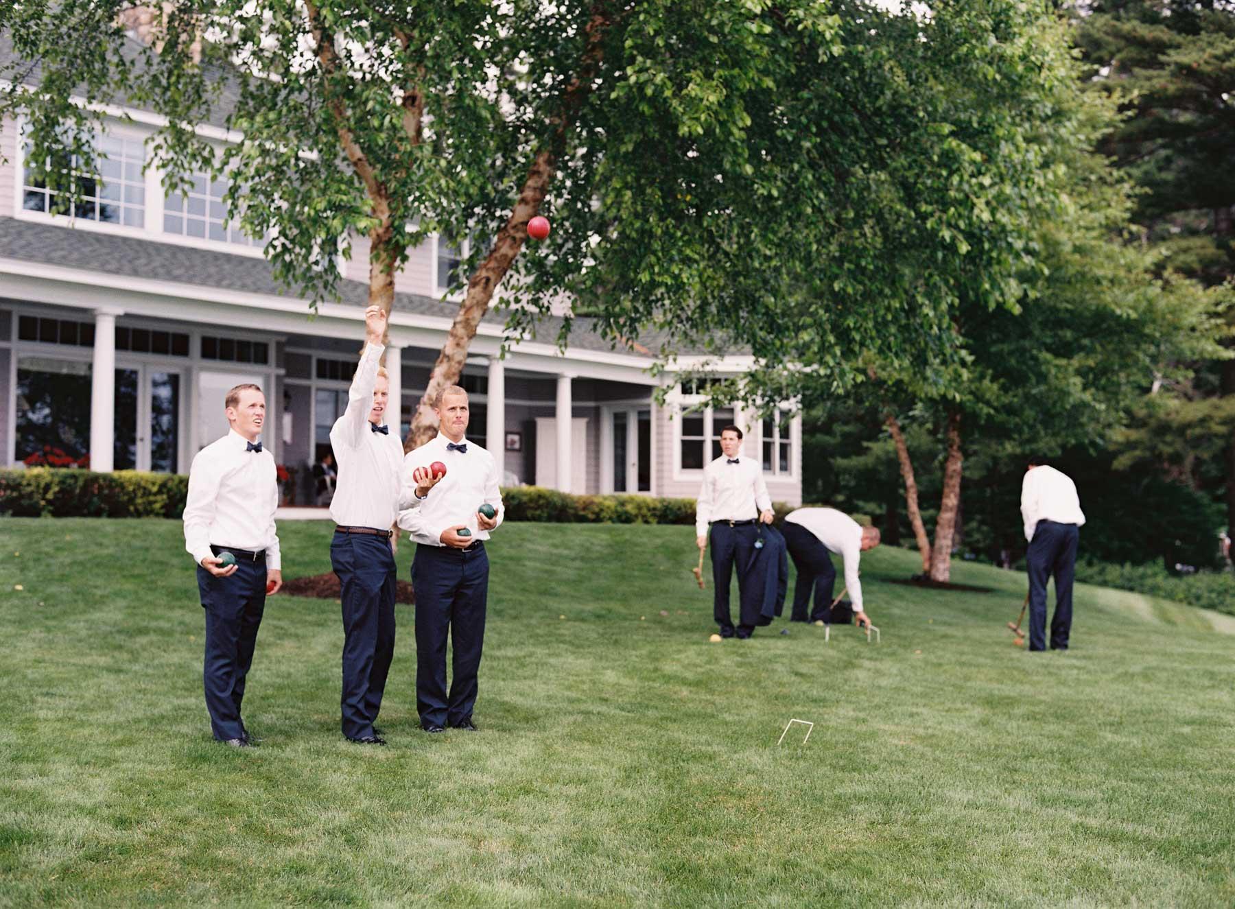 lawn games for wedding reception, outdoor wedding reception activities