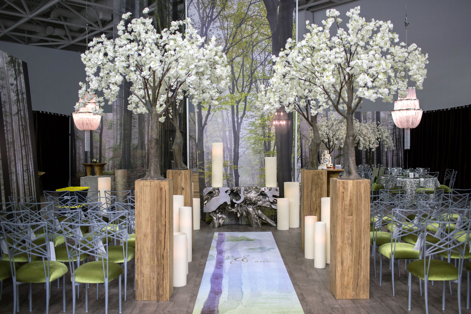 UNVEILED - The Ultimate Wedding Planning Event by The Wedding Guys in Minnesota - trend experience forest ceremony