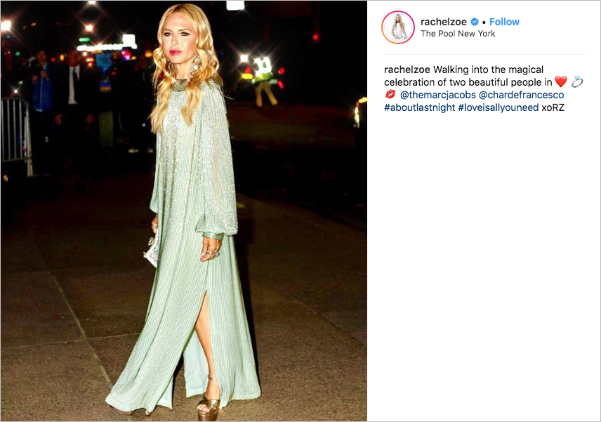 marc jacobs Char Defrancesco wedding, rachel zoe
