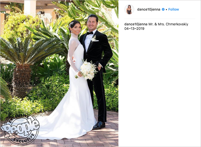 Dancing With the Stars wedding, Jenna Johnson and Val Chmerkoskiy