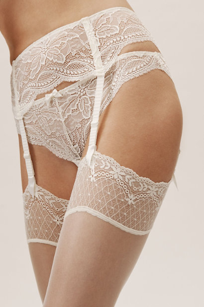 Eden garter belt simone perele bhldn wedding lingerie intimates ideas