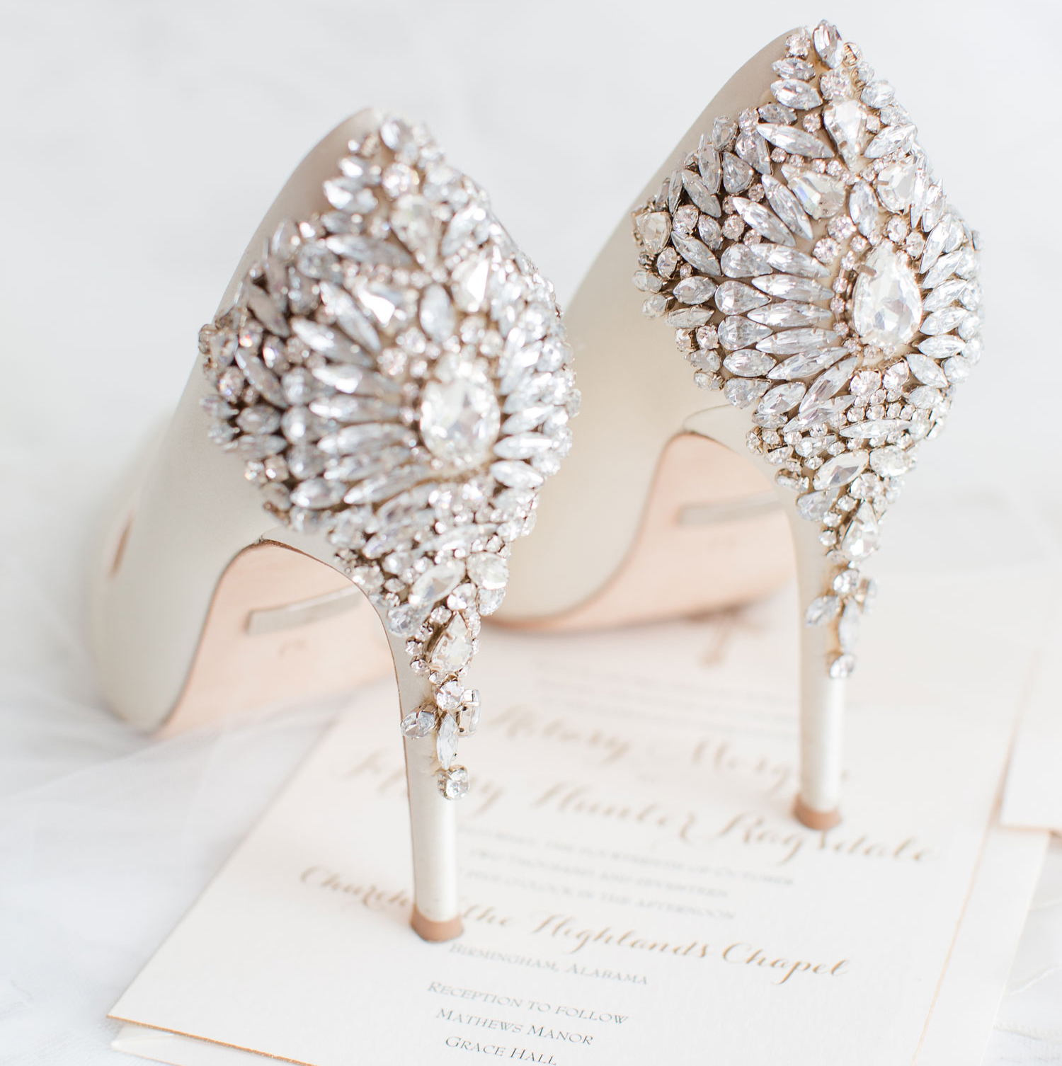 a85ebebf79dc How to Choose Your Wedding Shoes - Inside Weddings
