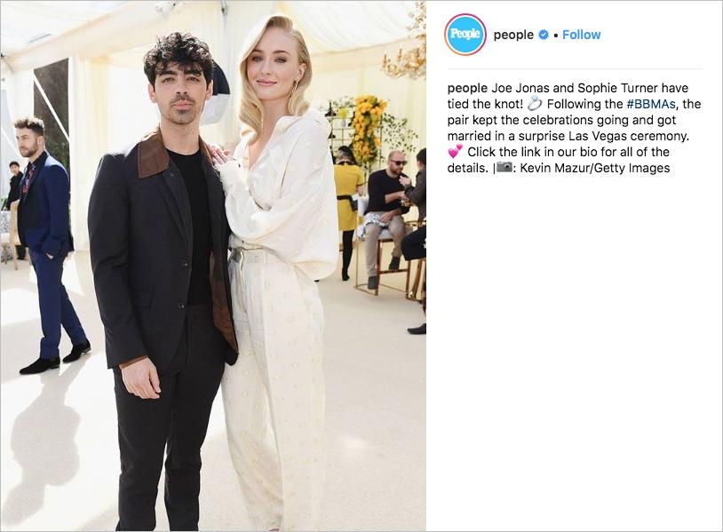 joe jonas and sophie turner las vegas wedding diplo instagram