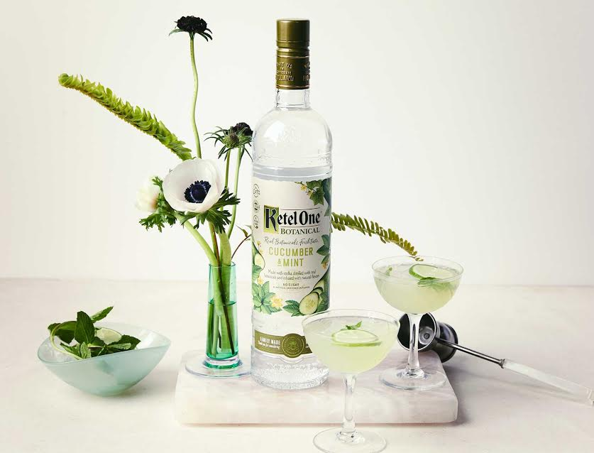 Ketel One Botanical signature cocktail recipe spicy lady lime juice agave