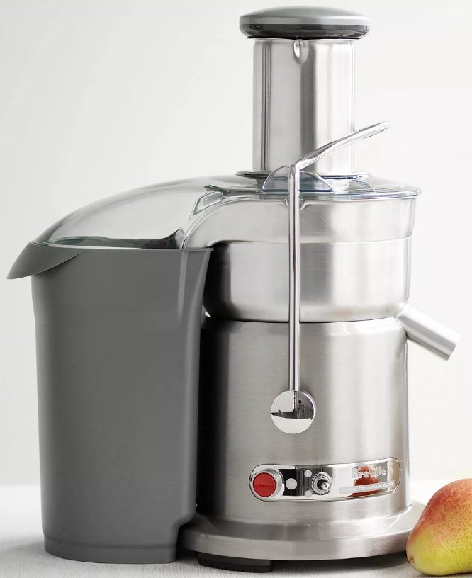 Breville ikon die cast juice fountain elite juicer mother's day gift ideas