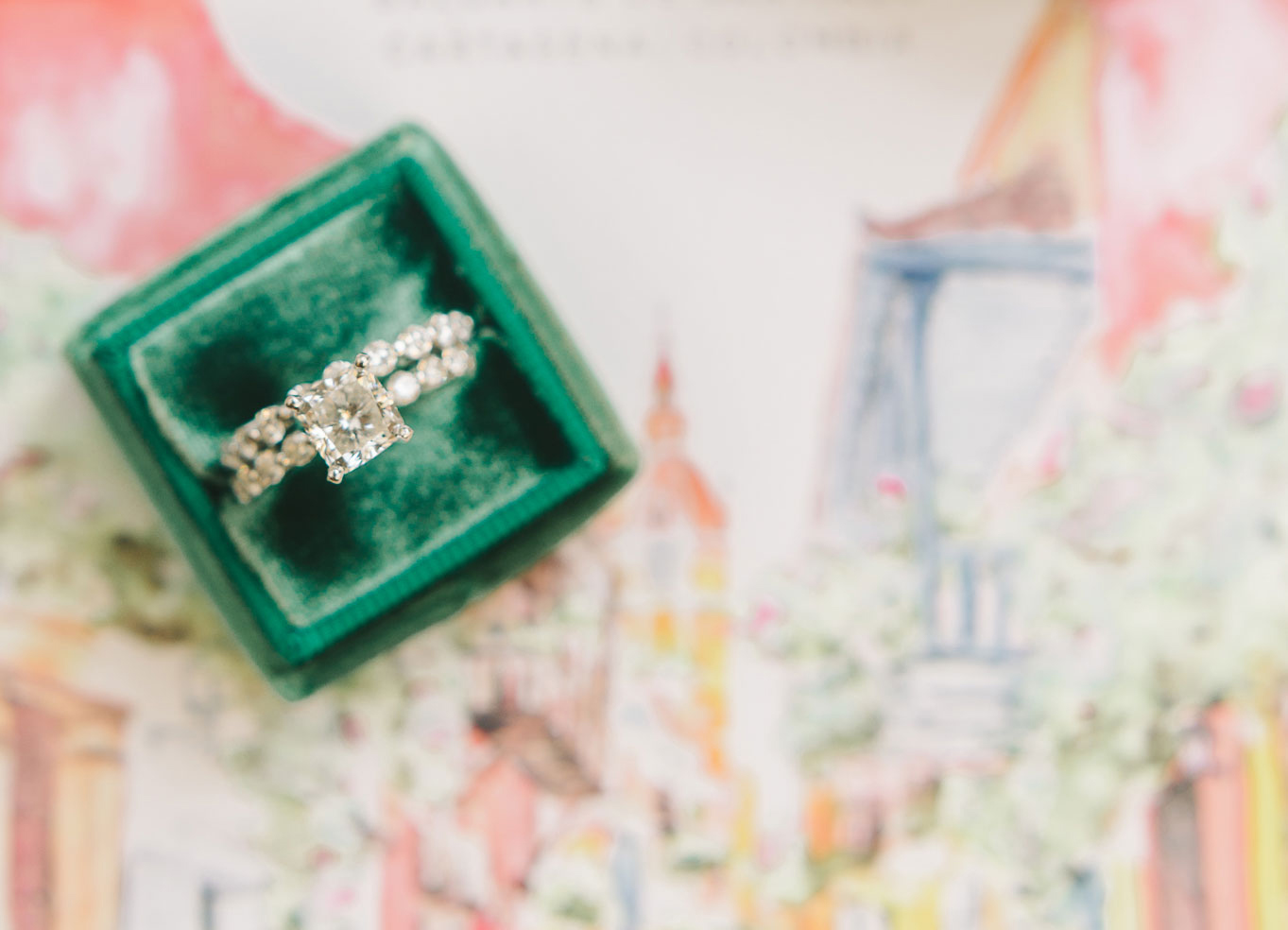 where to hide an engagement ring, proposal ideas where to hide the ring
