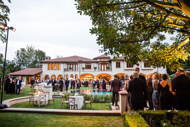 how to plan a luxurious backyard wedding