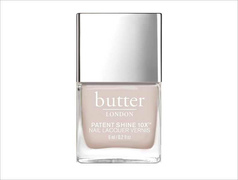 Starkers Butter London nude nail polish ideas for brides wedding day manicure