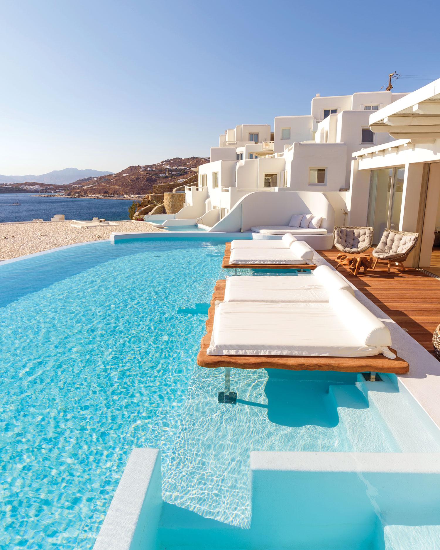 Zena Foster and Durrell Tank Babbs honeymoon vacation cavo tagoo mykonos greece