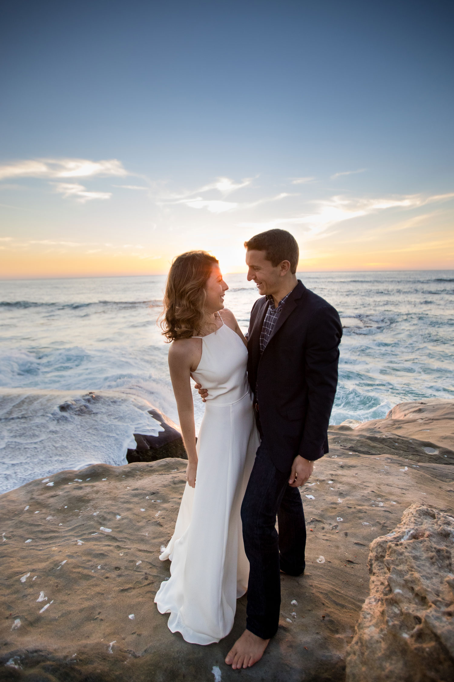 wedding photo engagement photo of erin fink and david levy wedding registry tips and advice