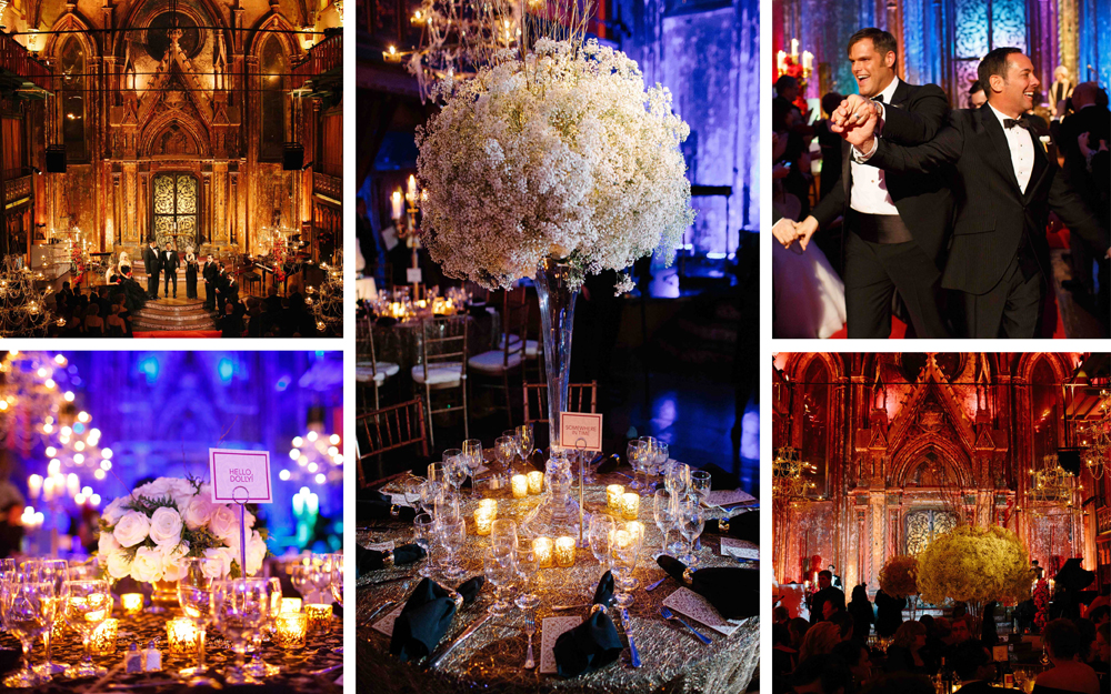 luxury gay wedding matthew christopher bridal designer new york ceremony reception