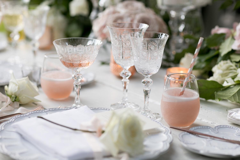 summer wedding ideas frozen cocktails iced drinks frose frozen rose wine