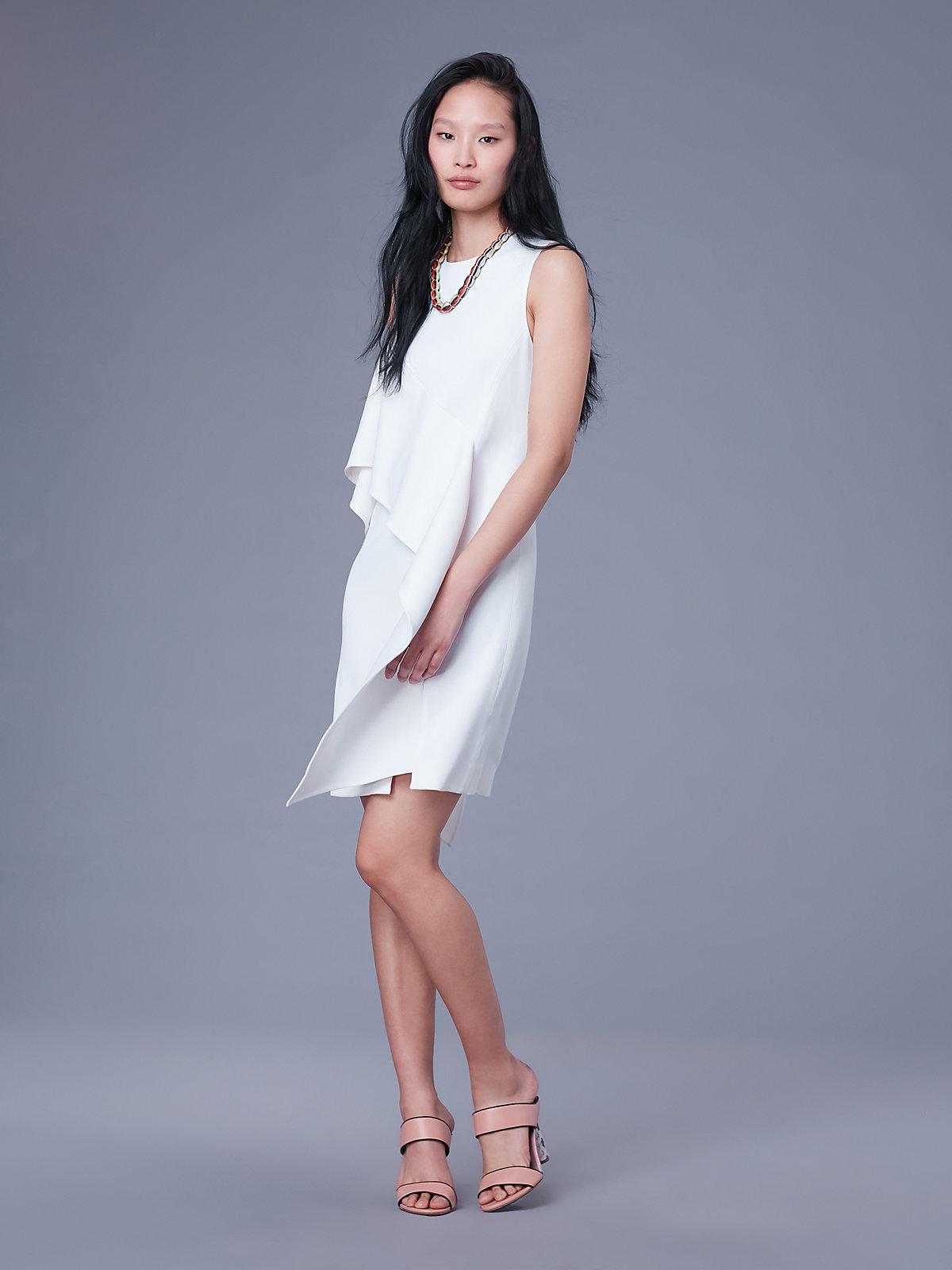 DVF sleeveless dress diane von furstenberg bridal shower dress ideas 4th fourth of july sales for brides