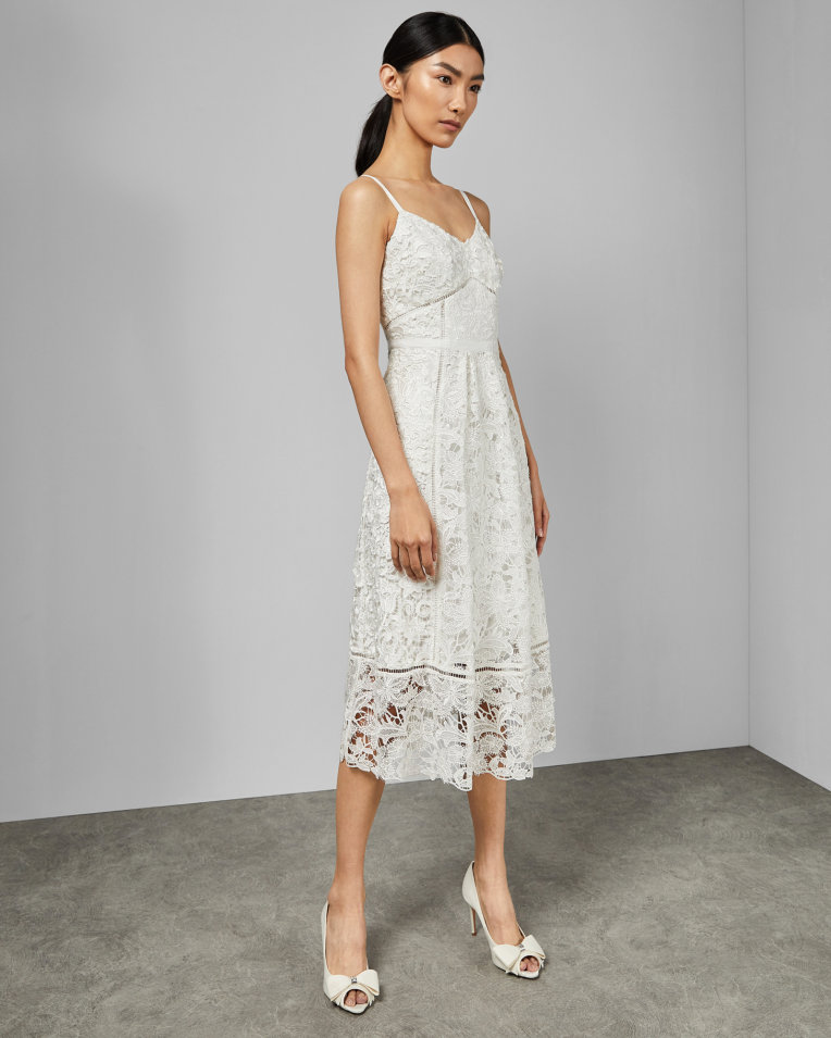 lace midi dress by Ted Baker rehearsal dinner dress ideas 4th fourth of july sales for brides