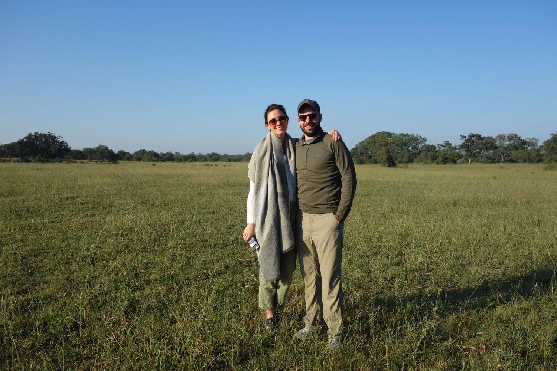 honeymooners at kruger national park south africa safari