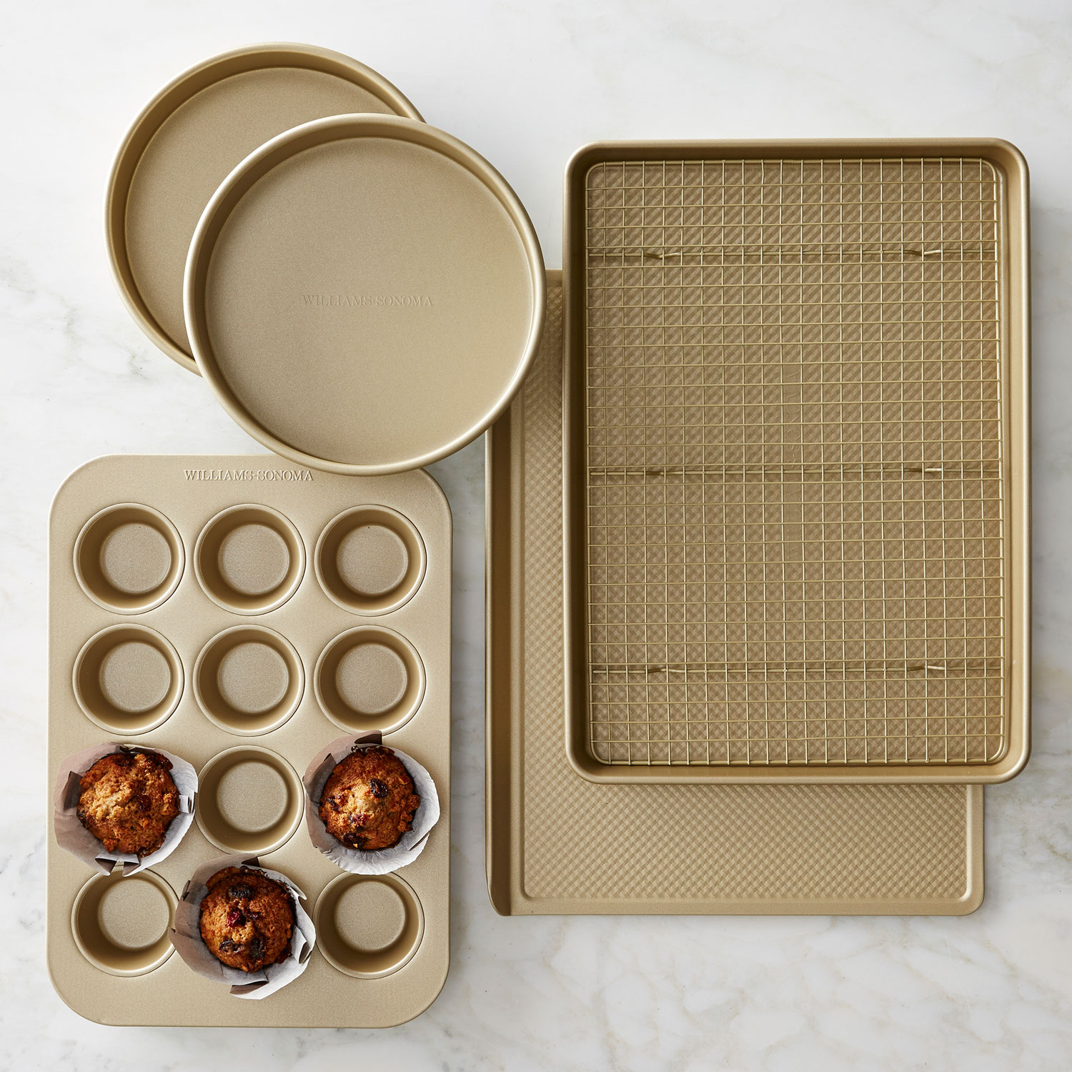 wedding registry product ideas goldtouch nonstick bakeware set gold williams sonoma