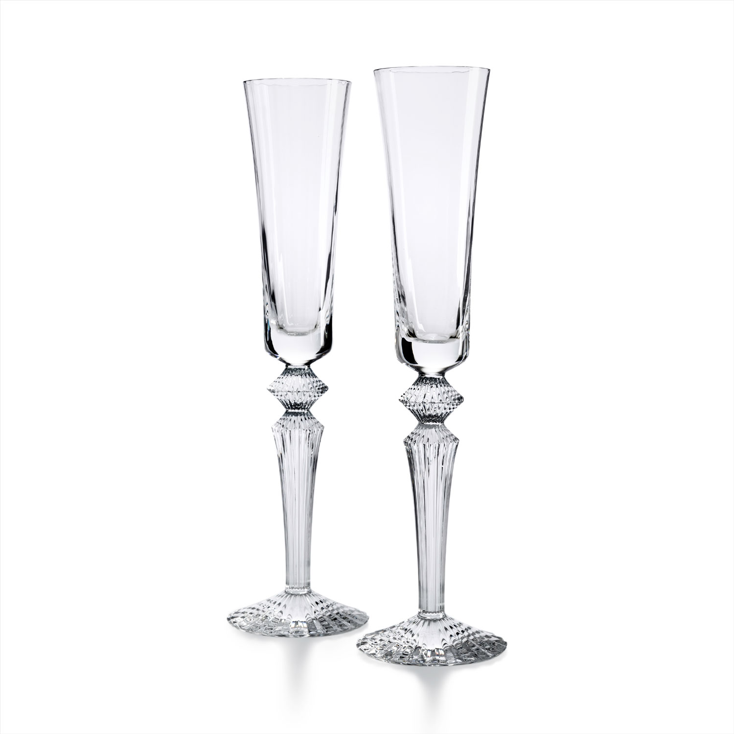 wedding registry product ideas mille nuits flutes baccarat from gearys