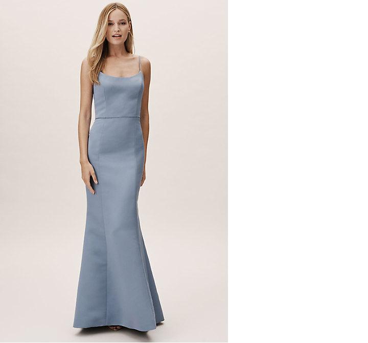 bridesmaid dress ideas moe amsale bhldn blue formal gown dress ideas