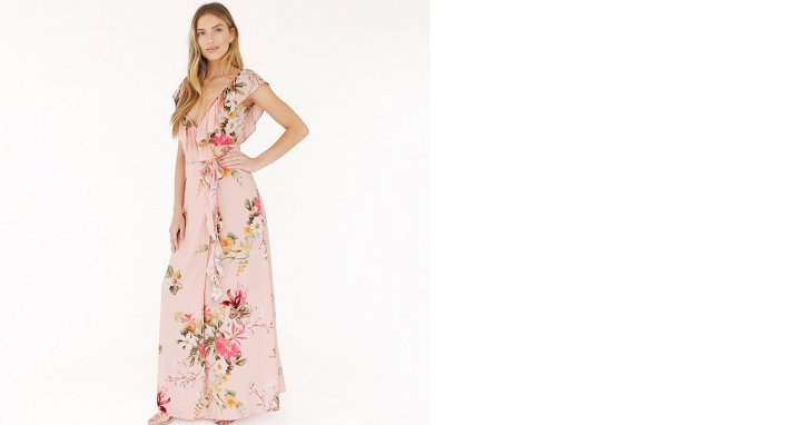 Plum Pretty Sugar bridesmaid wedding guest dress Blair in Heartbreaker Labor day sales for brides