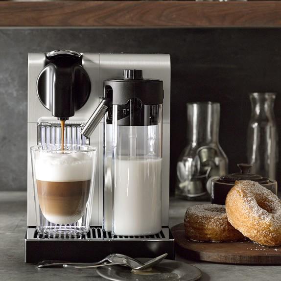 Williams Sonoma Nespresso De'Longhi Lattissima Pro espresso machine labor day sales wedding registry gift ideas