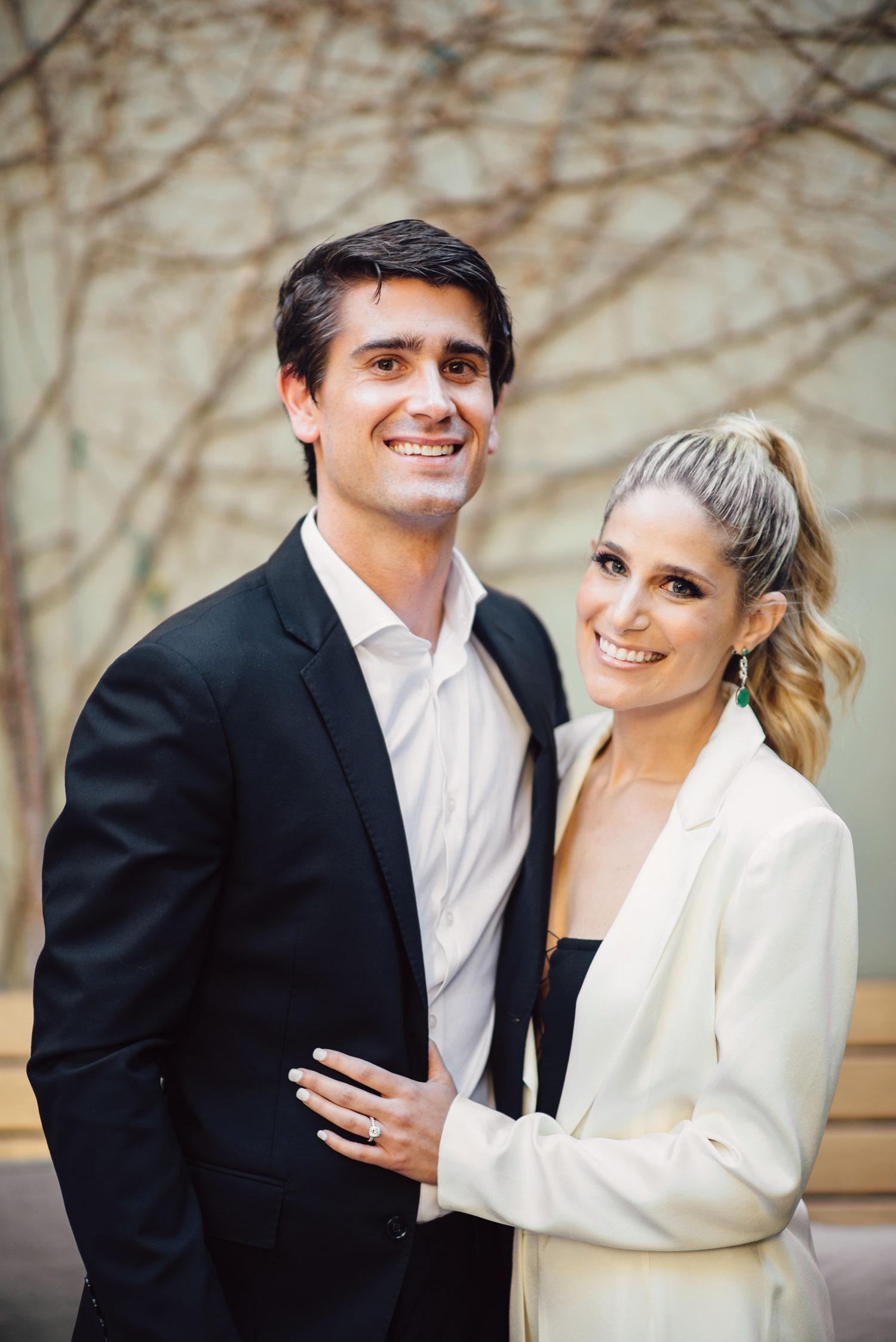 engagement photo ashley hardy and j hardy ehlers wedding registry tips