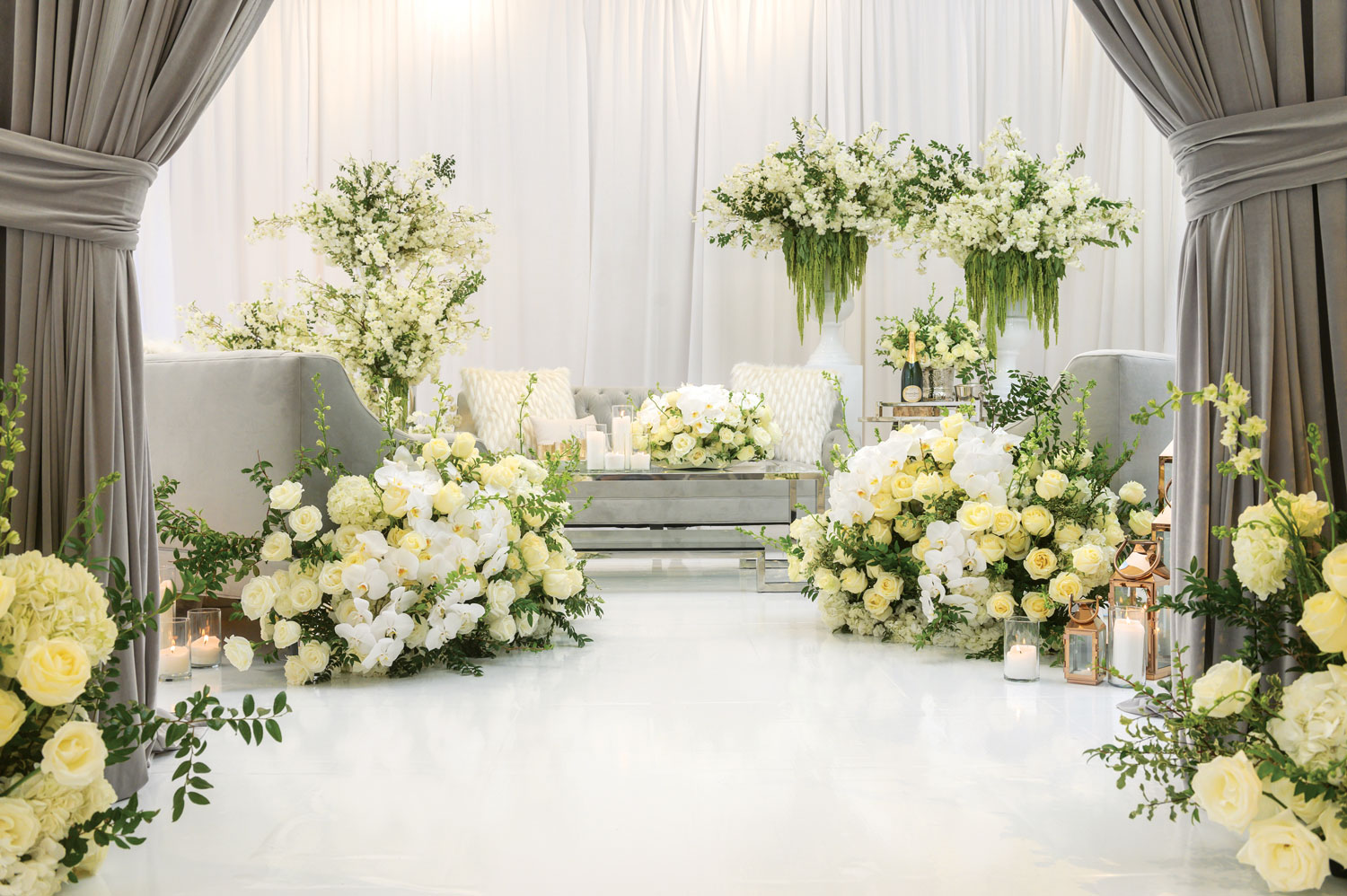 wedding styled shoot lounge pretty luxurious wedding details advice from andrea eppolito events