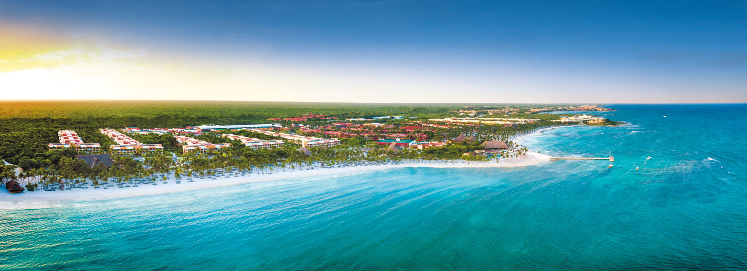 Barceló Maya Grand Resort panorama view