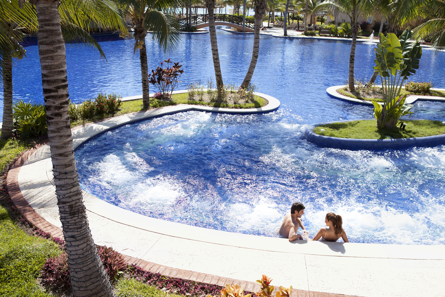 Barceló Maya Grand Resort pool at hotel