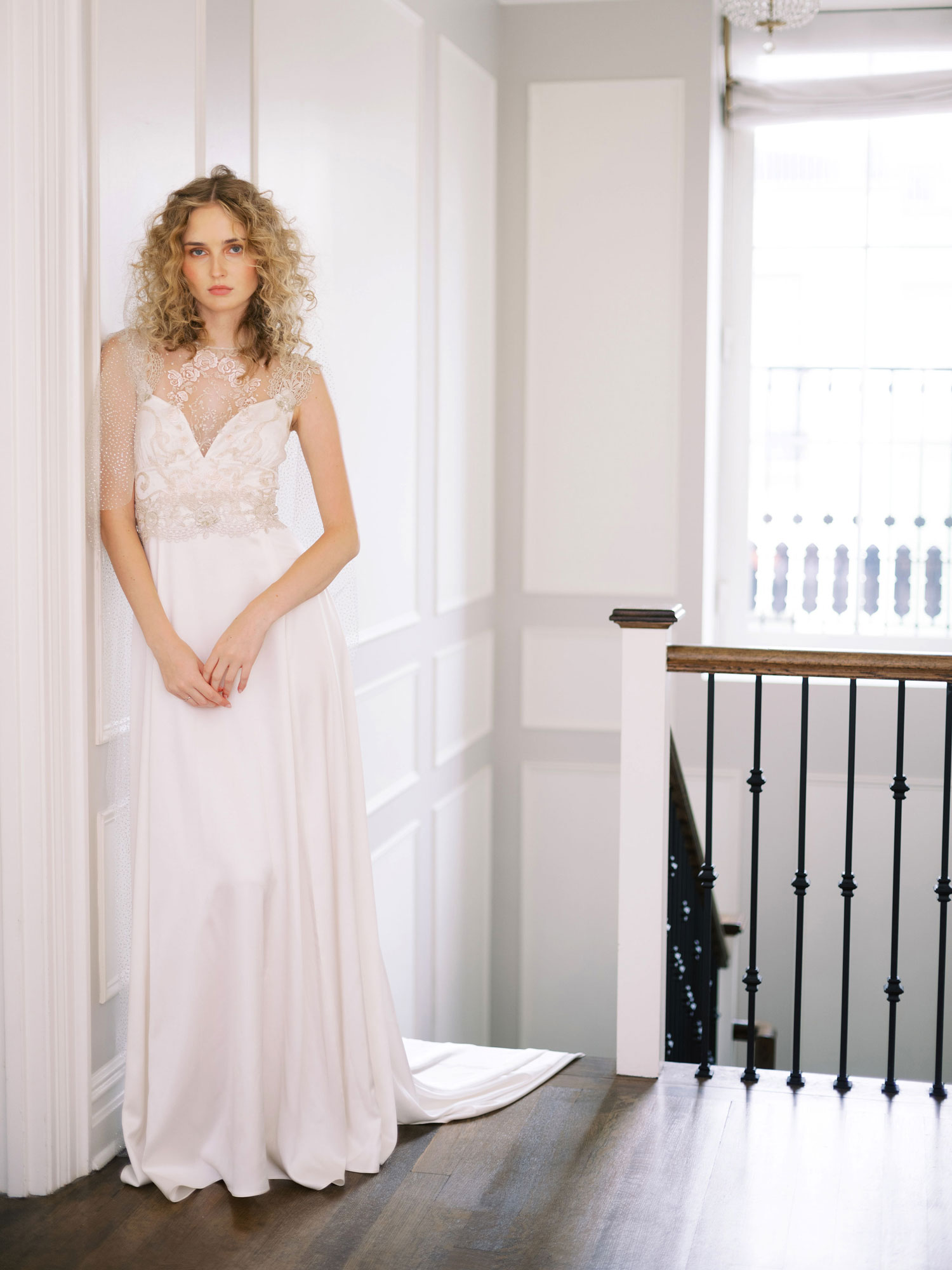Claire Pettibone Evolution 2020 bridal collection Nera wedding dress