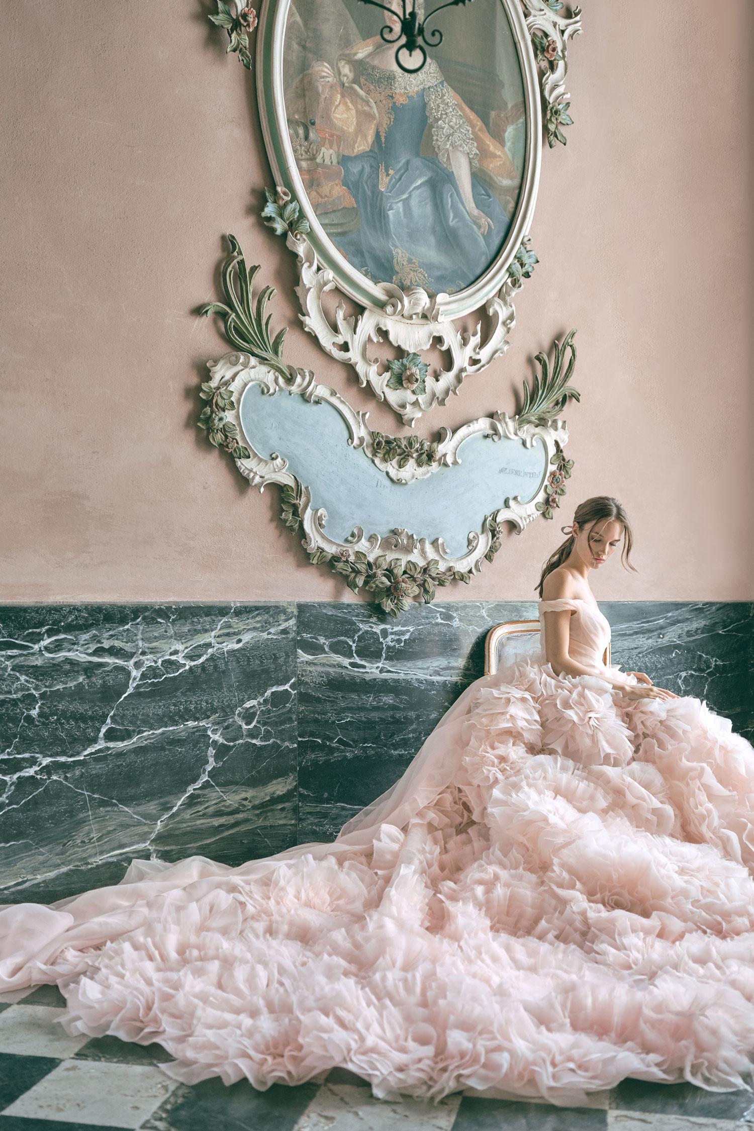 Monique Lhuillier secret garden fall 2020 bridal collection wedding dress from carine's bridal atelier