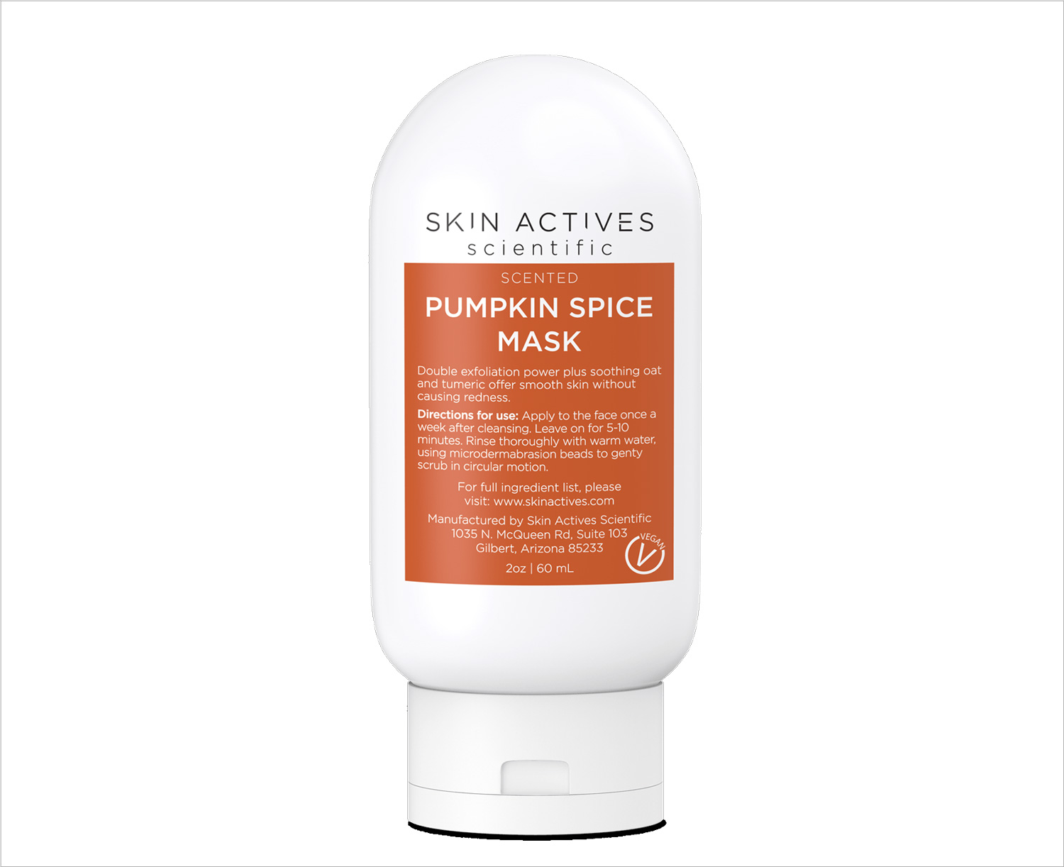 Skin Actives pumpkin spice mask exfoliating beauty product fall wedding ideas