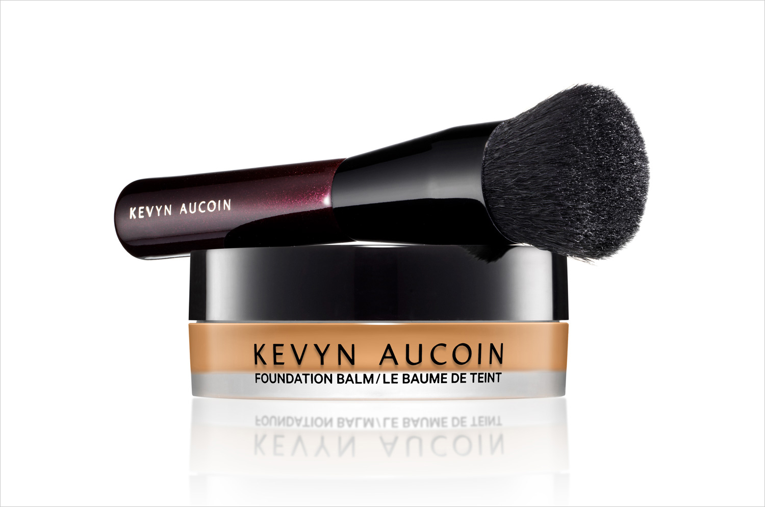 Kevyn Aucoin foundation balm buildable foundation with brush fall beauty wedding ideas