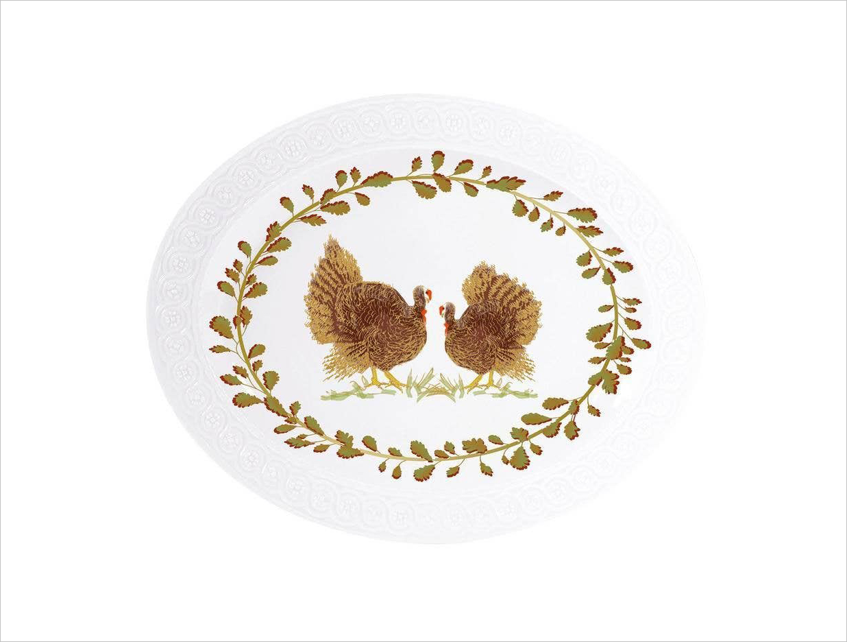 Gearys registry items for hosting thanksgiving oval platter from louvre collection bernardaud