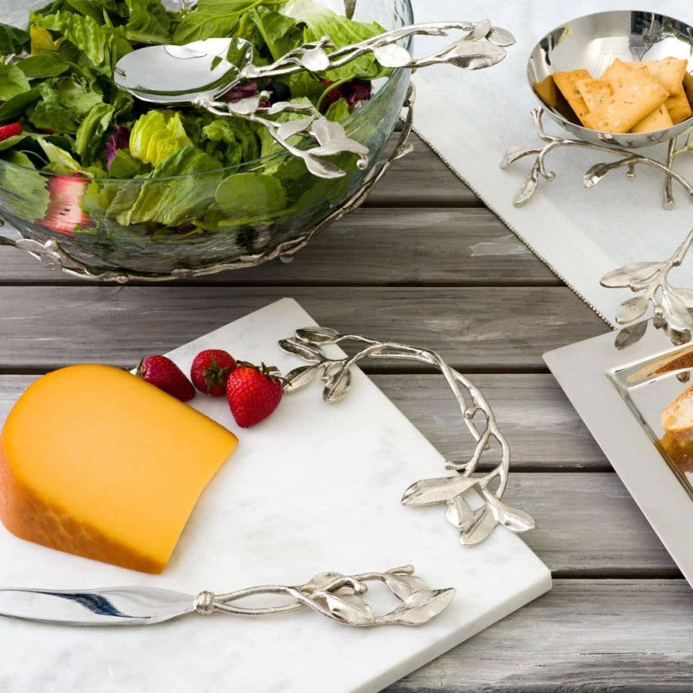 Gearys registry items for hosting thanksgiving laurel cheese board with knife by michael aram