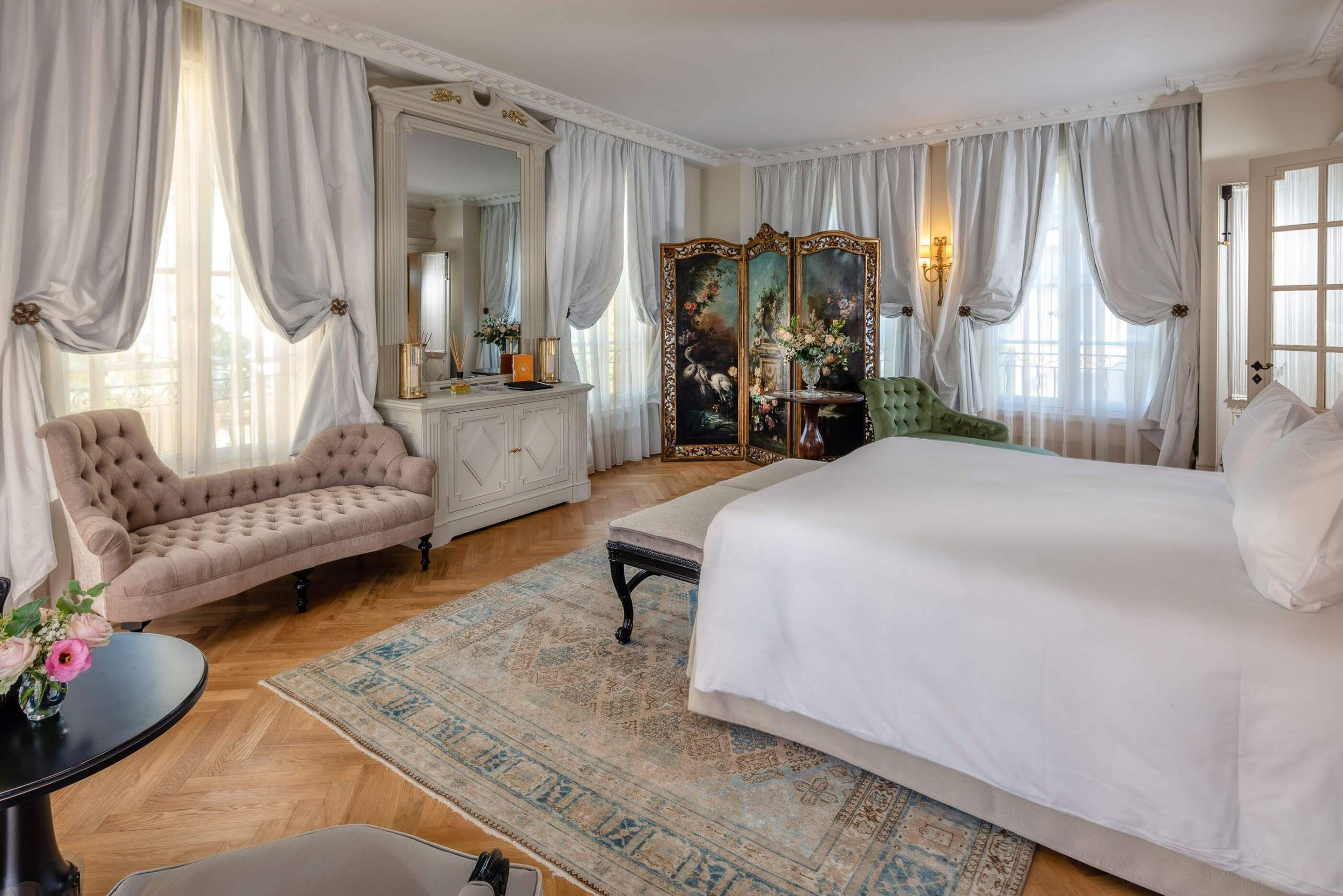 Room at Villa Saint Ange in the south of france