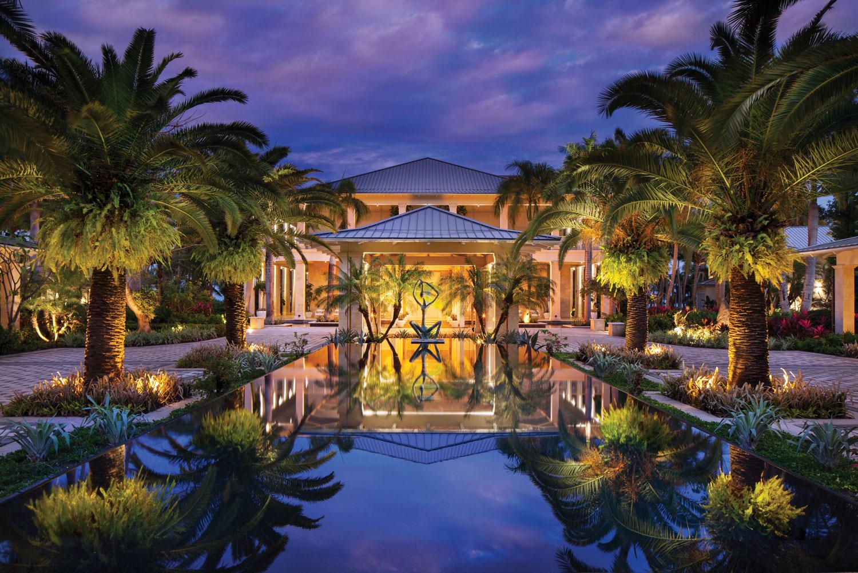 Puerto Rico destination wedding and honeymoon travel ideas st regis bahia beach casa grande entrance