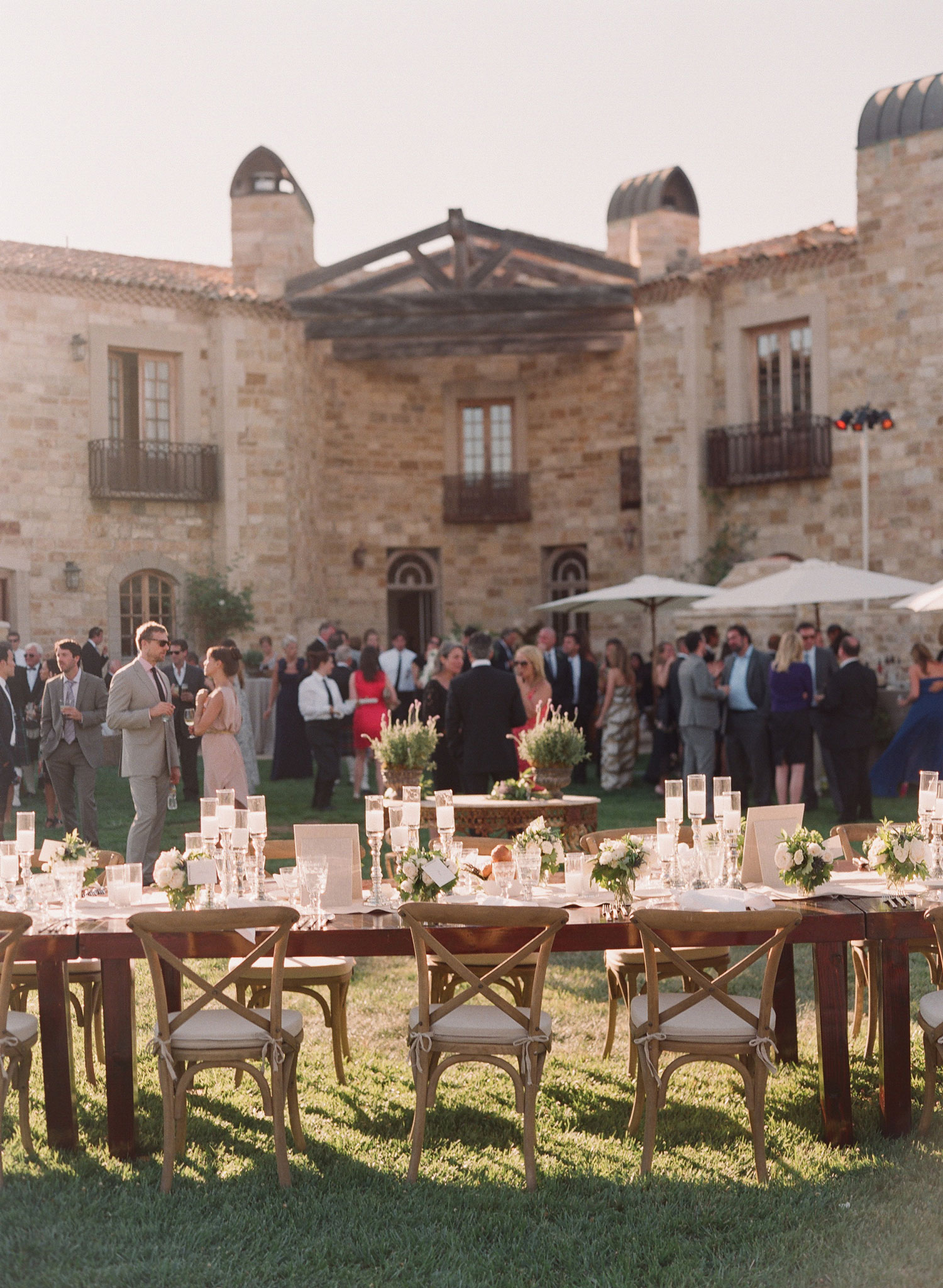 outdoor wedding reception winery in northern california mark paul gosselaar 2019 popular real weddings
