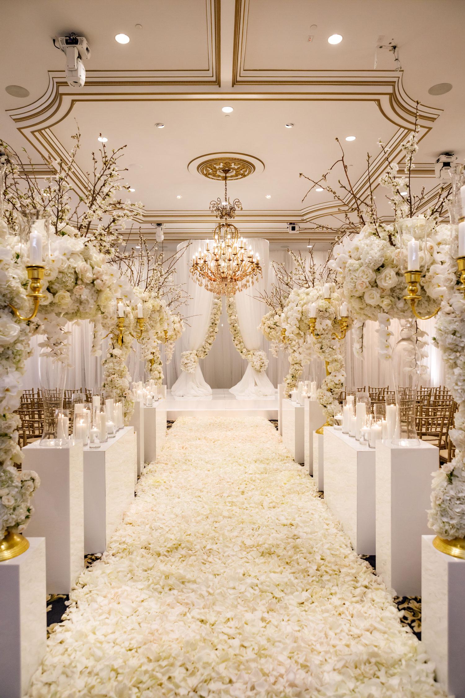 tahir whitehead luxury wedding ceremony castle venue 2019 most popular real weddings