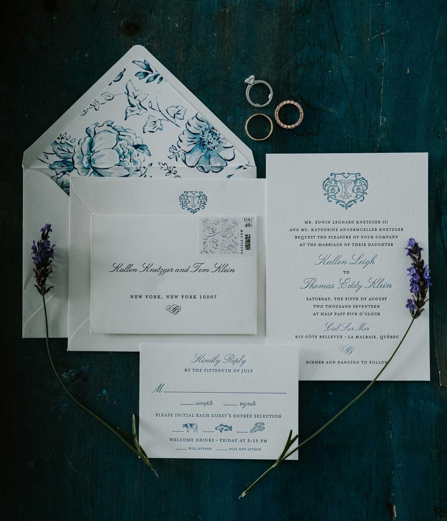 blue and white wedding ideas blue and white wedding invitation