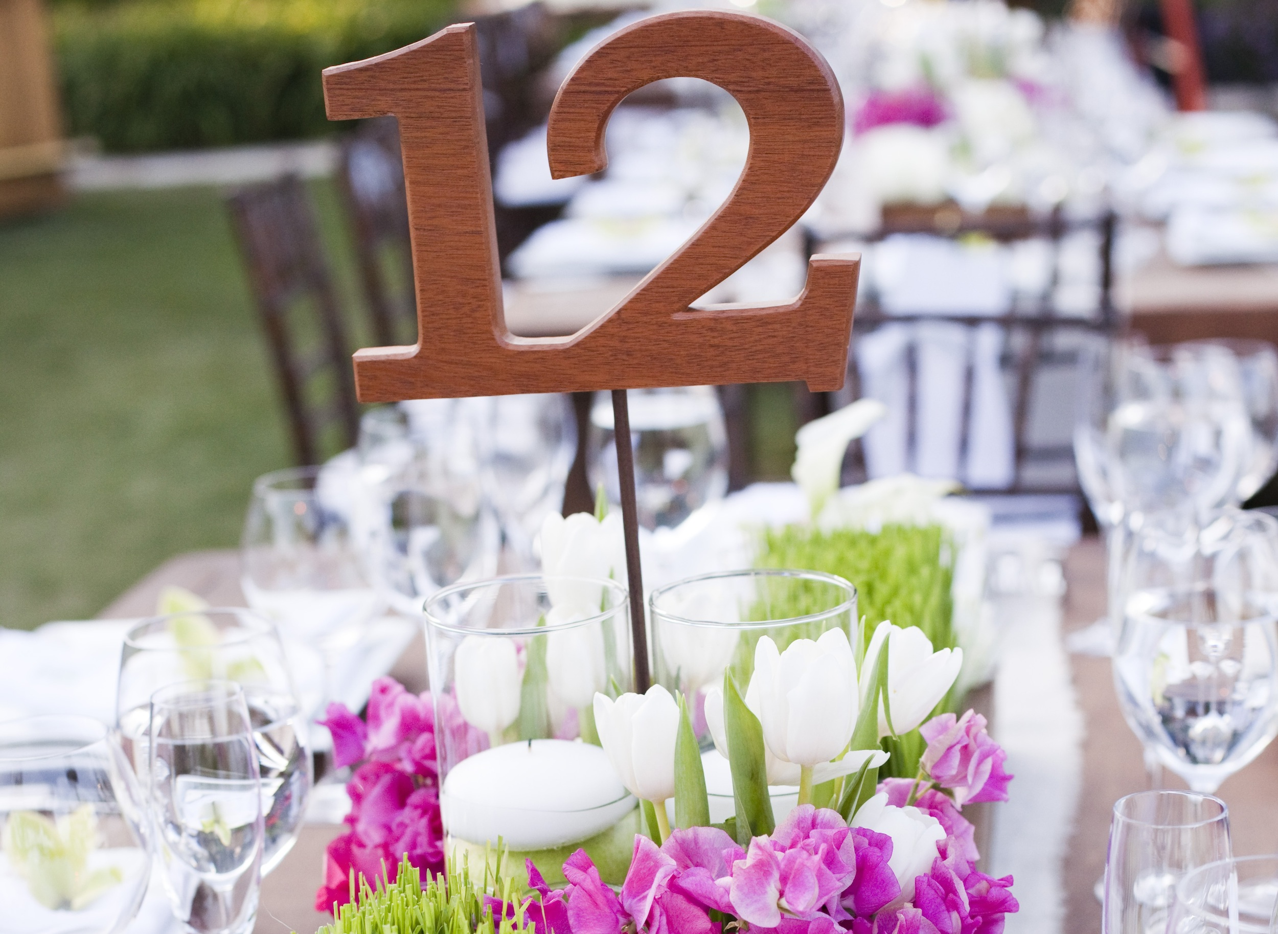 Wedding reception table numbers inside weddings for Table numbers for wedding reception templates