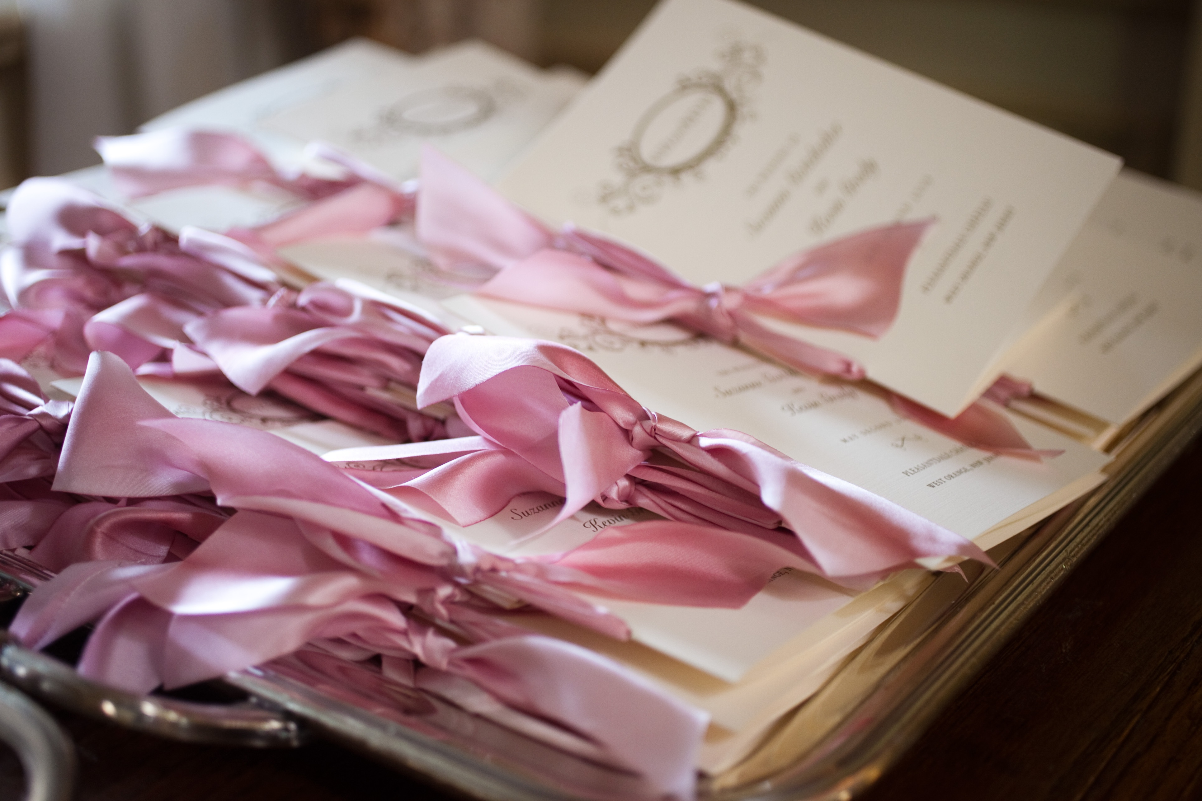 Wedding Program Trends - Wedding Stationery - Inside Weddings