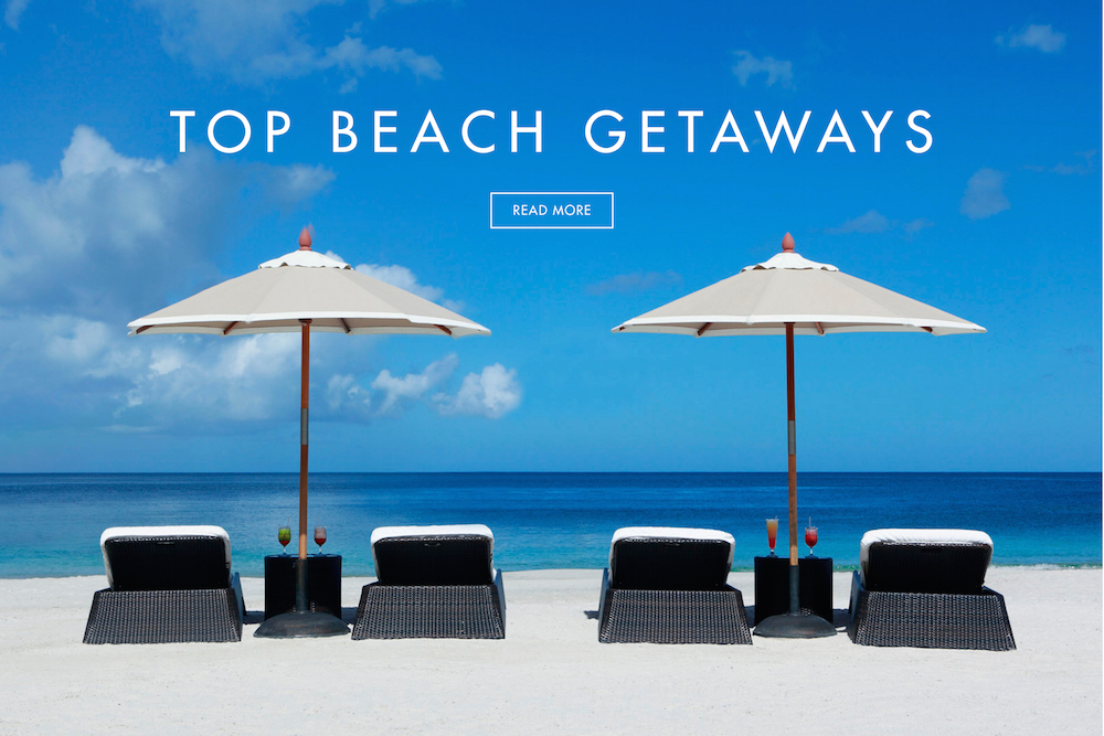 Top 10 beach destinations for a health conscious romantic for Top honeymoon beach destinations